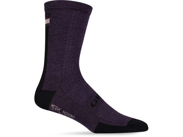 Giro High Rise Cuff Team Socks dusty purple